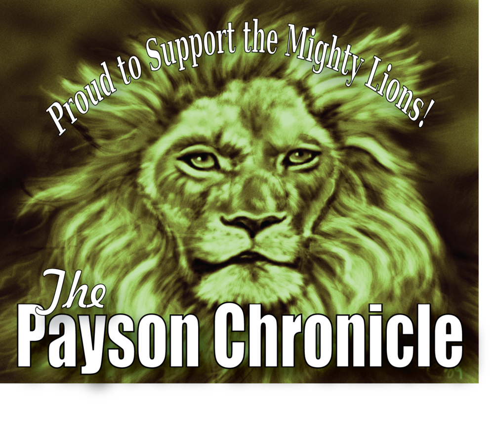 Payson Chronicle Banner PHS Lions 2018 2019.png