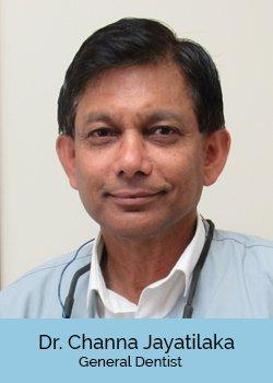 Dr. Channa Jayaitlaka, DDS