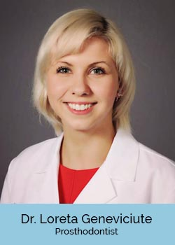Loreta Geneviciute, Prosthodontist