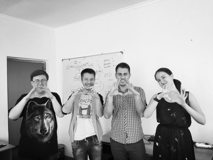 IT Attractor Team in Bishkek, Kyrgyzstan