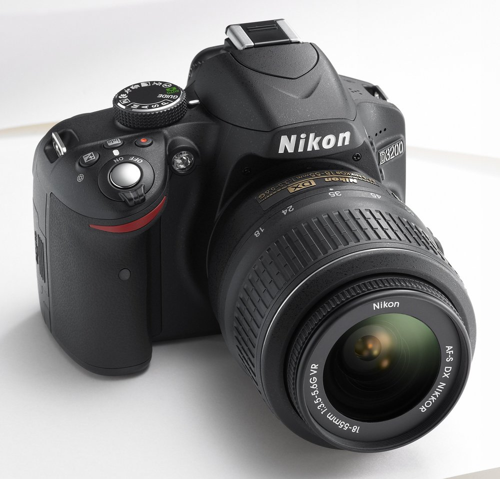 The Nikon D3200 is a great entry level DSLR camera at a great value!