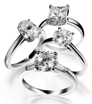 The Diamond solitaire is now pretty much synonymous with engagement rings