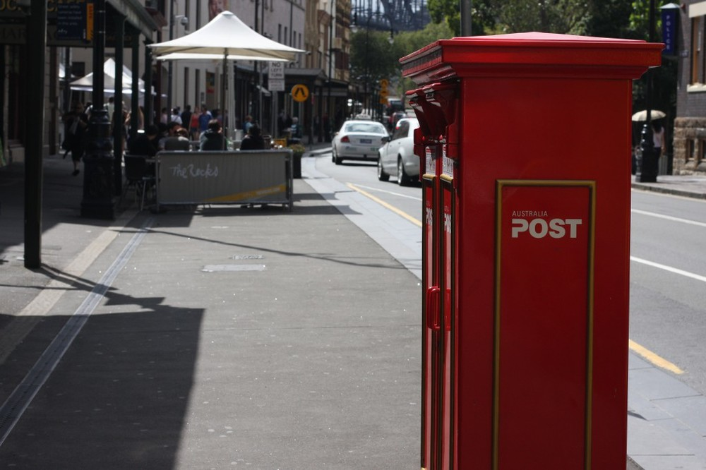 Iconic Australian Post box