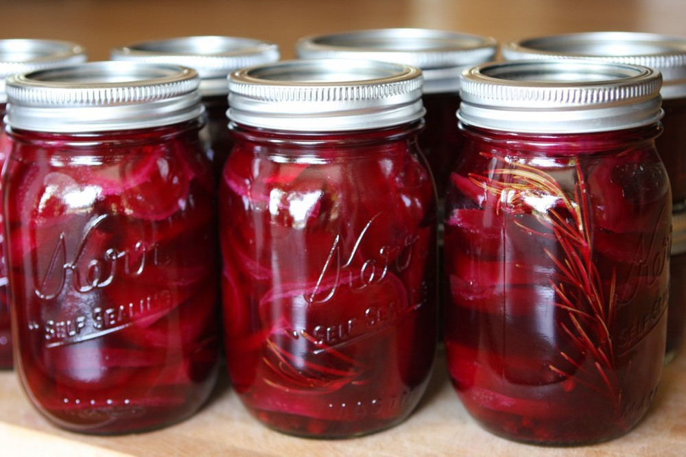 Rosemary Pickled Beets