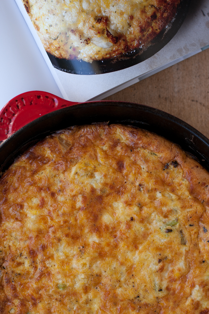 Smoky Frittata with Farm Eggs