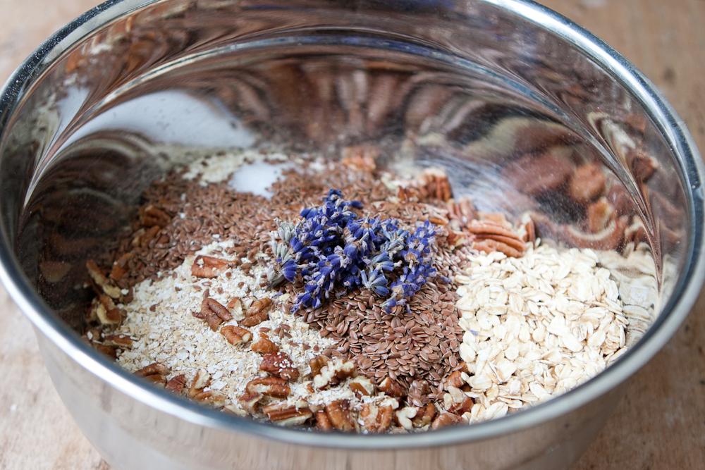 Lavender Pecan Granola