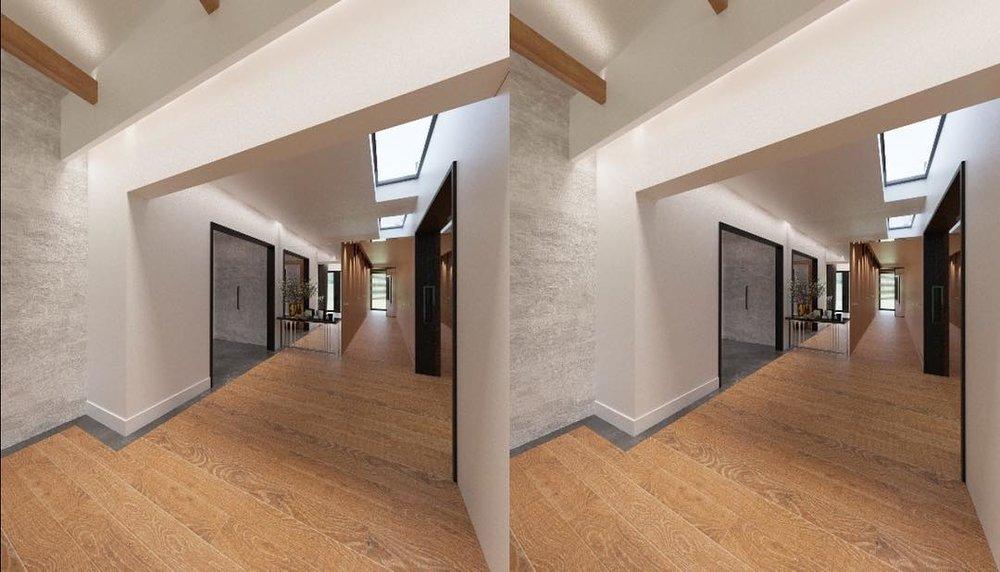 Widok panoramy w aplikacji do prezentacji wirtualnej rzeczywistości