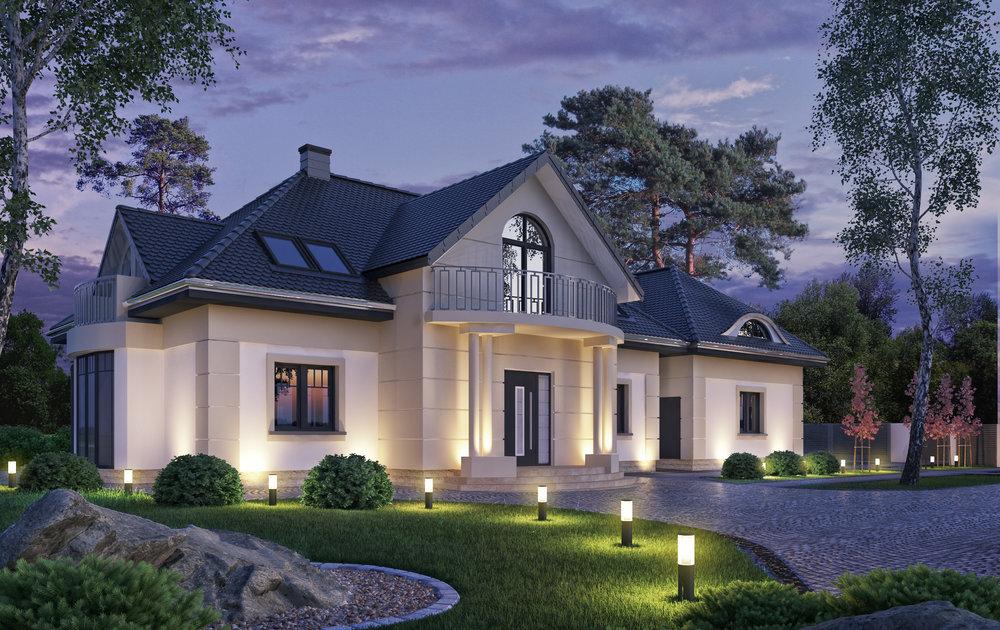 Wizualziacja domu_wizualizacja architektury_nocna.jpg