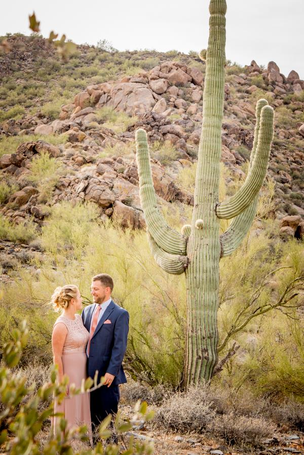 desert country wedding