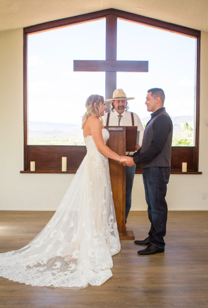 intimate wedding ceremony Arizona