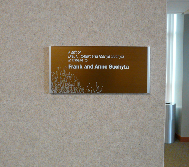 Recognition Plaque Thank You For Donation   just b.CAUSE