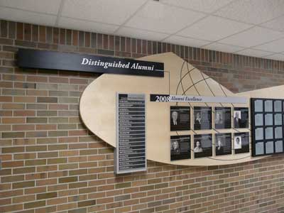 Michigan State University Donor Wall