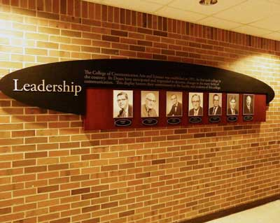 Michigan State Alumni Wall