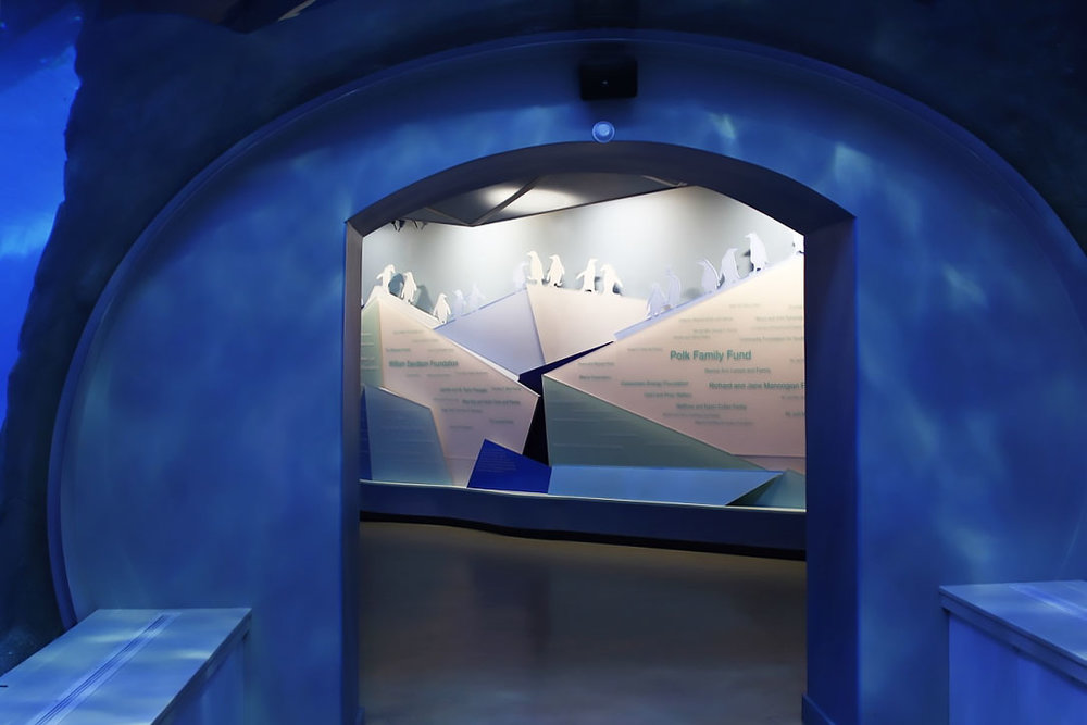 The Polk Penguin Conservation Center, Main Donor Wall