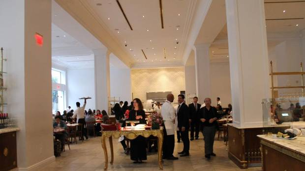 New purpose  Bottega Louie helped transformed a once no-go zone into a bustling restaurant row. Since 2008, more than 600 new businesses have opened in DTLA.