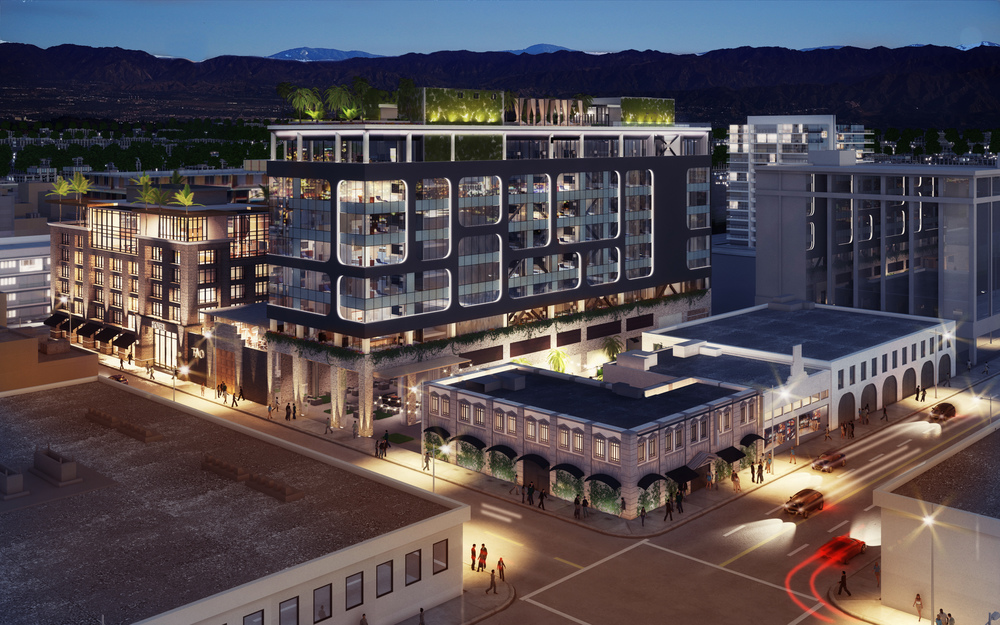 Hollywood Dream Hotel rendering