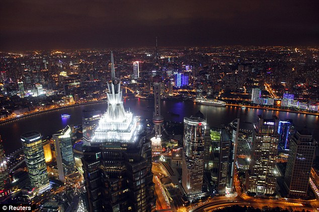 Reuters: Shanghai from above