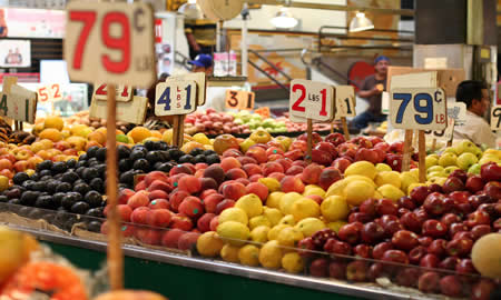Los Angeles markets are a local favourite