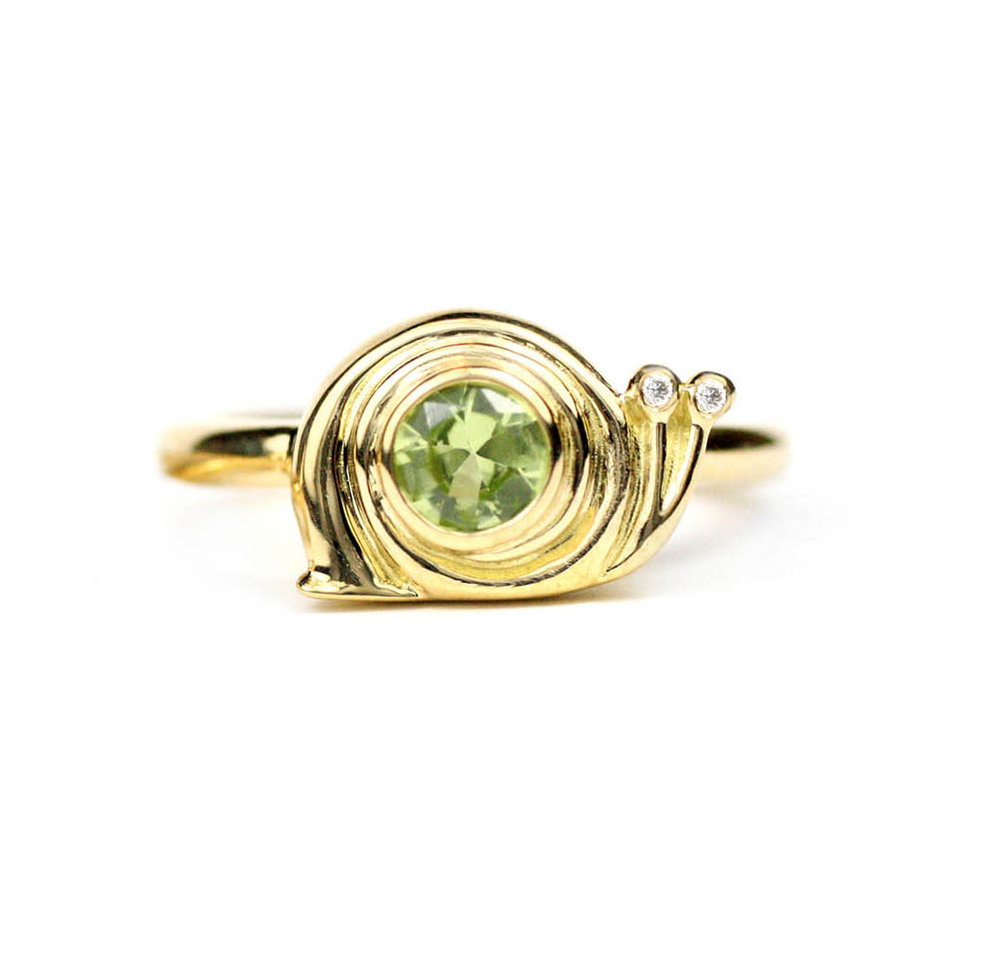 Snail Ring  Made to Order