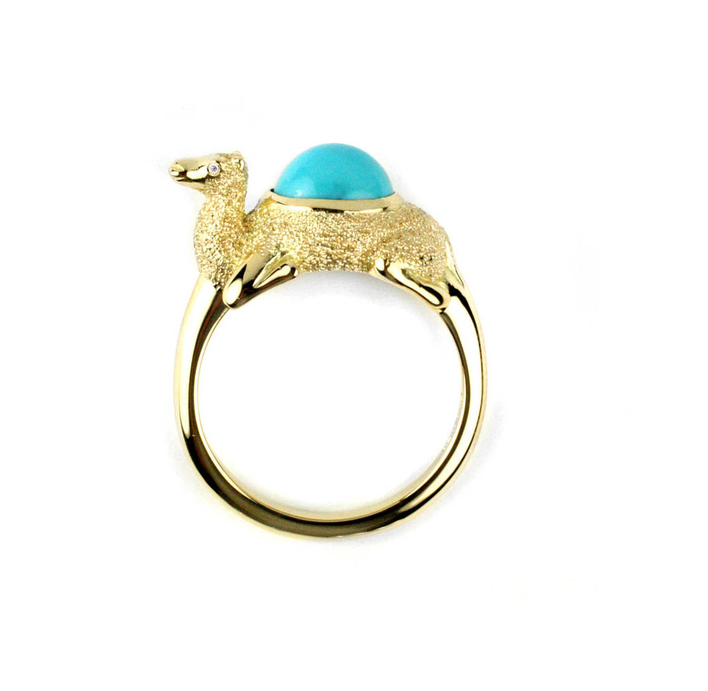 Camel Ring  Made to Order