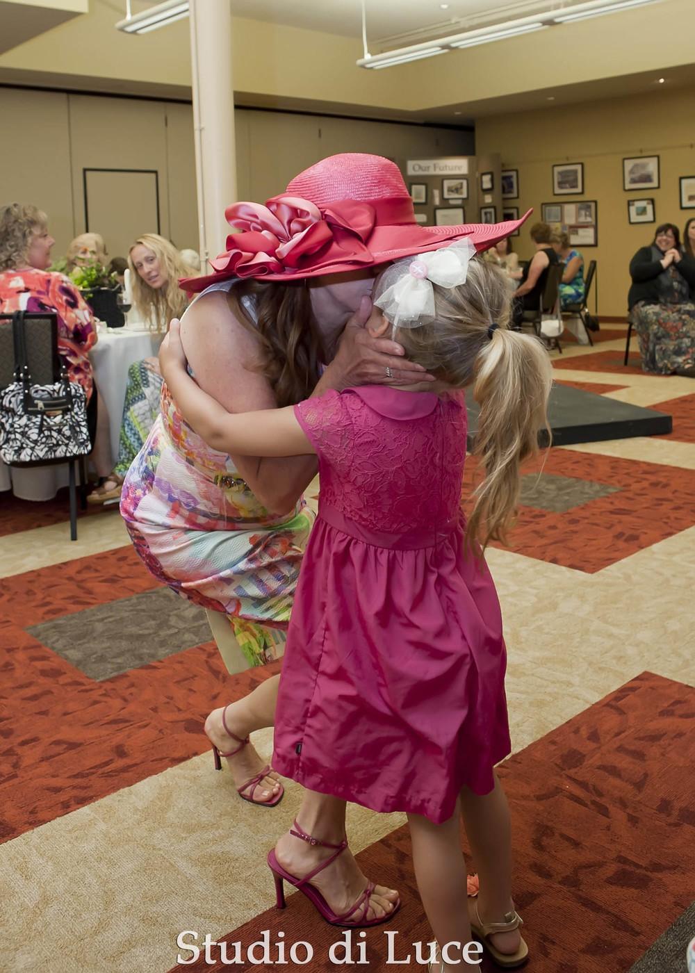 Roberta Thomas and granddaughter Addison Fazzio.
