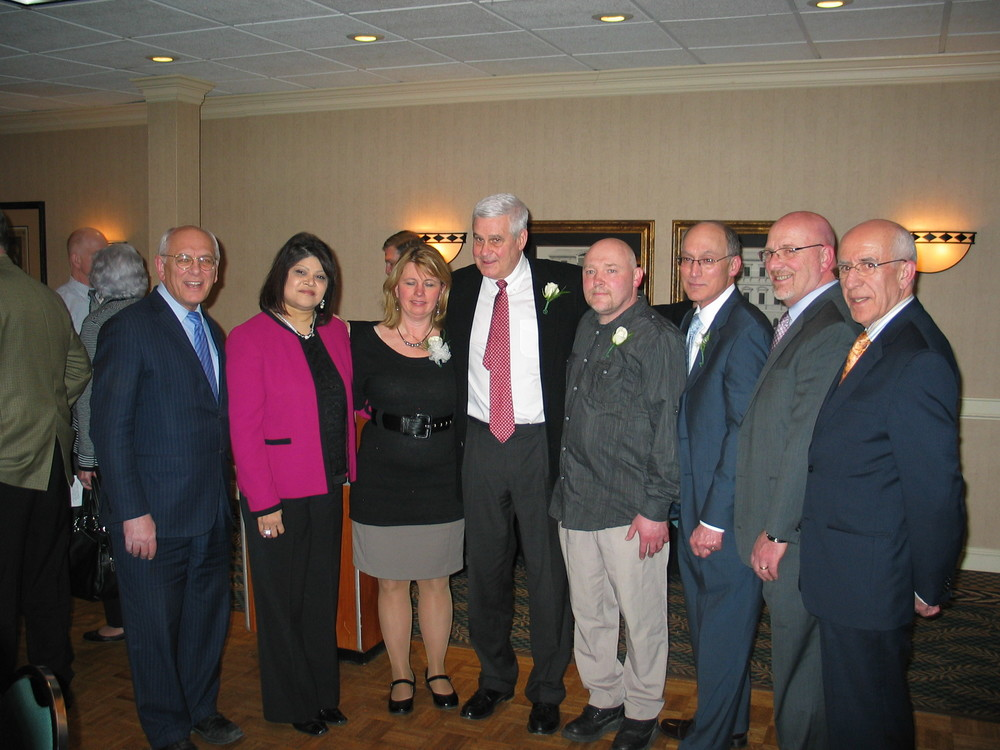 Congressman Paul Tonko, Lexington Executive Director Shaloni Winston, St. Mary's VIP Celeste Hughes, Dr. Peter Diamond, St. Mary's VIP John DePalma, St. Mary's President & CEO Vic Giulianelli, Vice President of Development and Planning Al Turo and St. Mary's Physician and Trustee Dr. Mohammad R. Ghazi