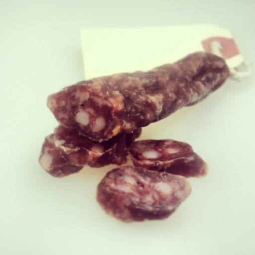Cacciatorini 'little hunter' Tiny cured wine & spice sausage - very pocketable for the adventurein'