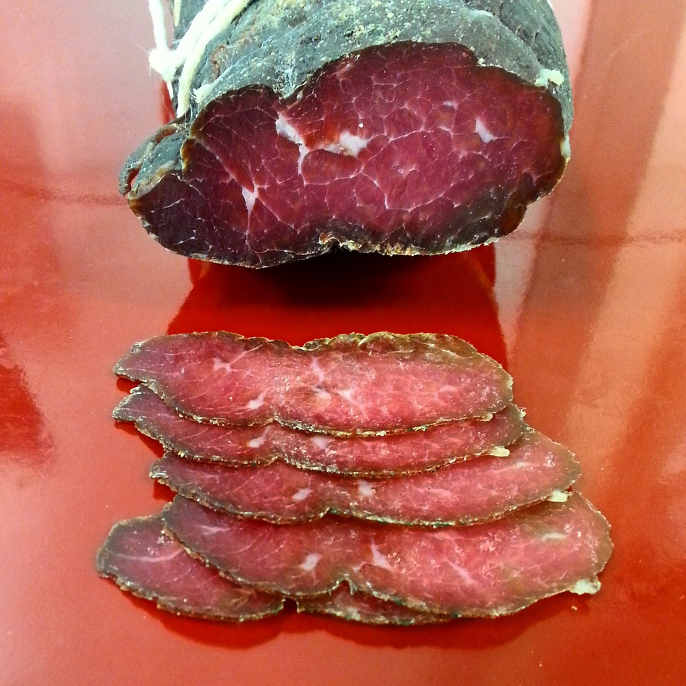 Bresaola Wine and spice cured beef eye of round