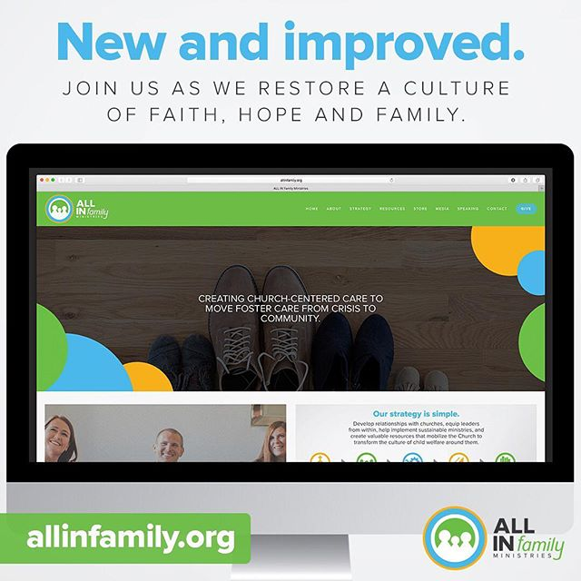 We have a new and improved website! Join us at allinfamily.org as we restore a culture of faith, hope and family. Subscribe to our newsletter to stay connected with upcoming news and events.