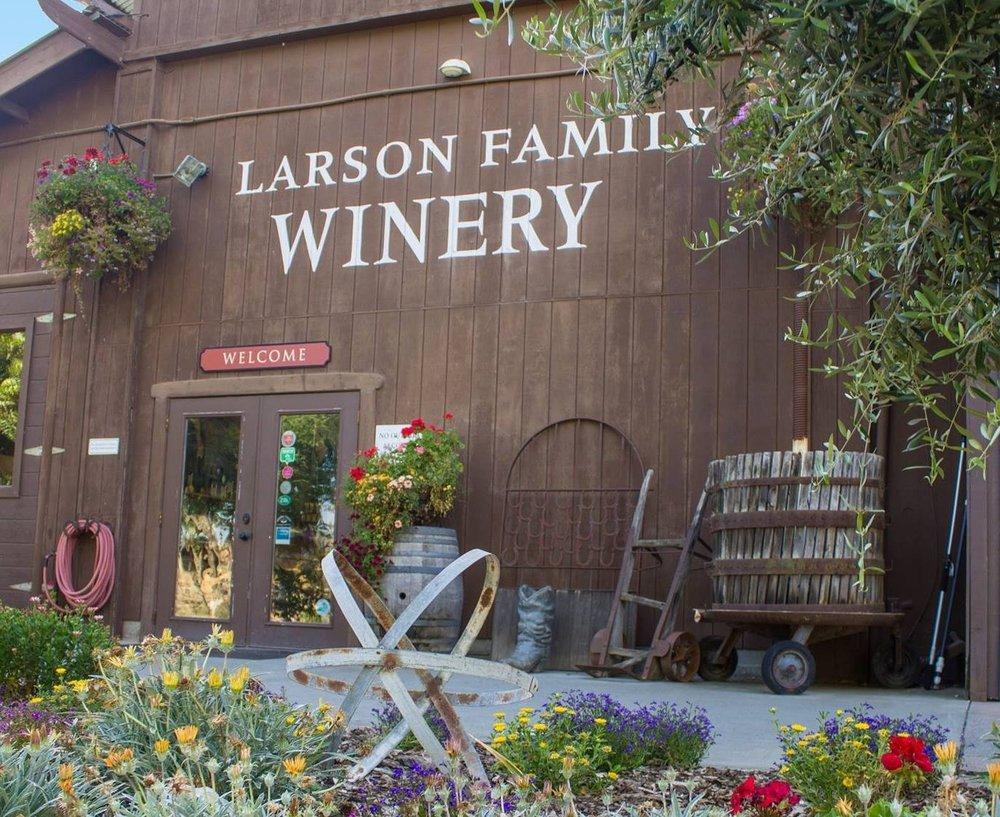 Photo credit: Larson Family Winery