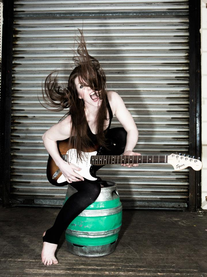 Ellen Rocking Out by Nicola Selby Photography