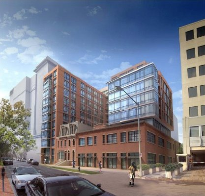 Rendering of 443-453 Eye St., NW