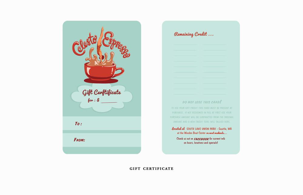 Celesto Gift Card