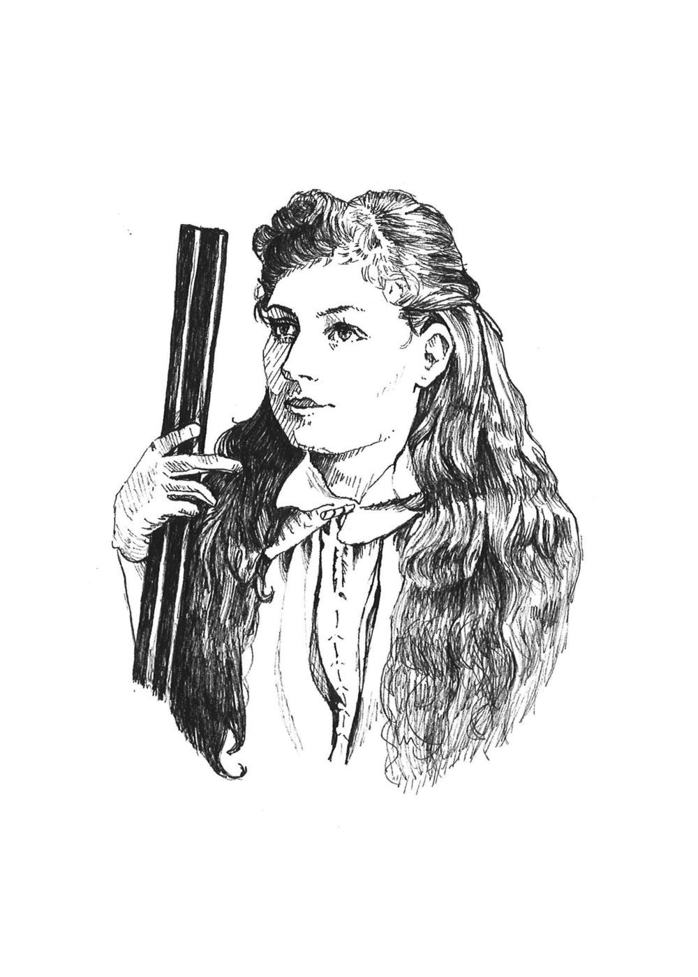 Annie Oakley       F A M E D  M A R K S M E N