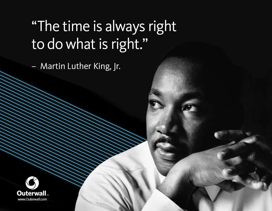 Social media graphic for MLK Day