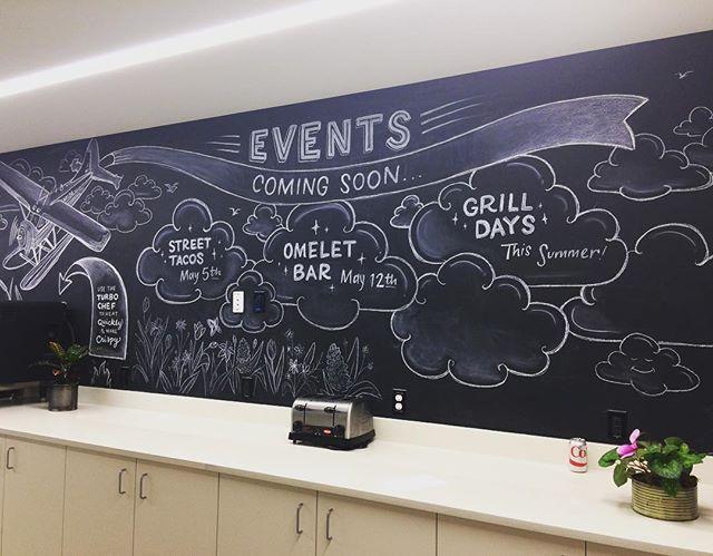 Events Update for Allen Institute Cafeteria