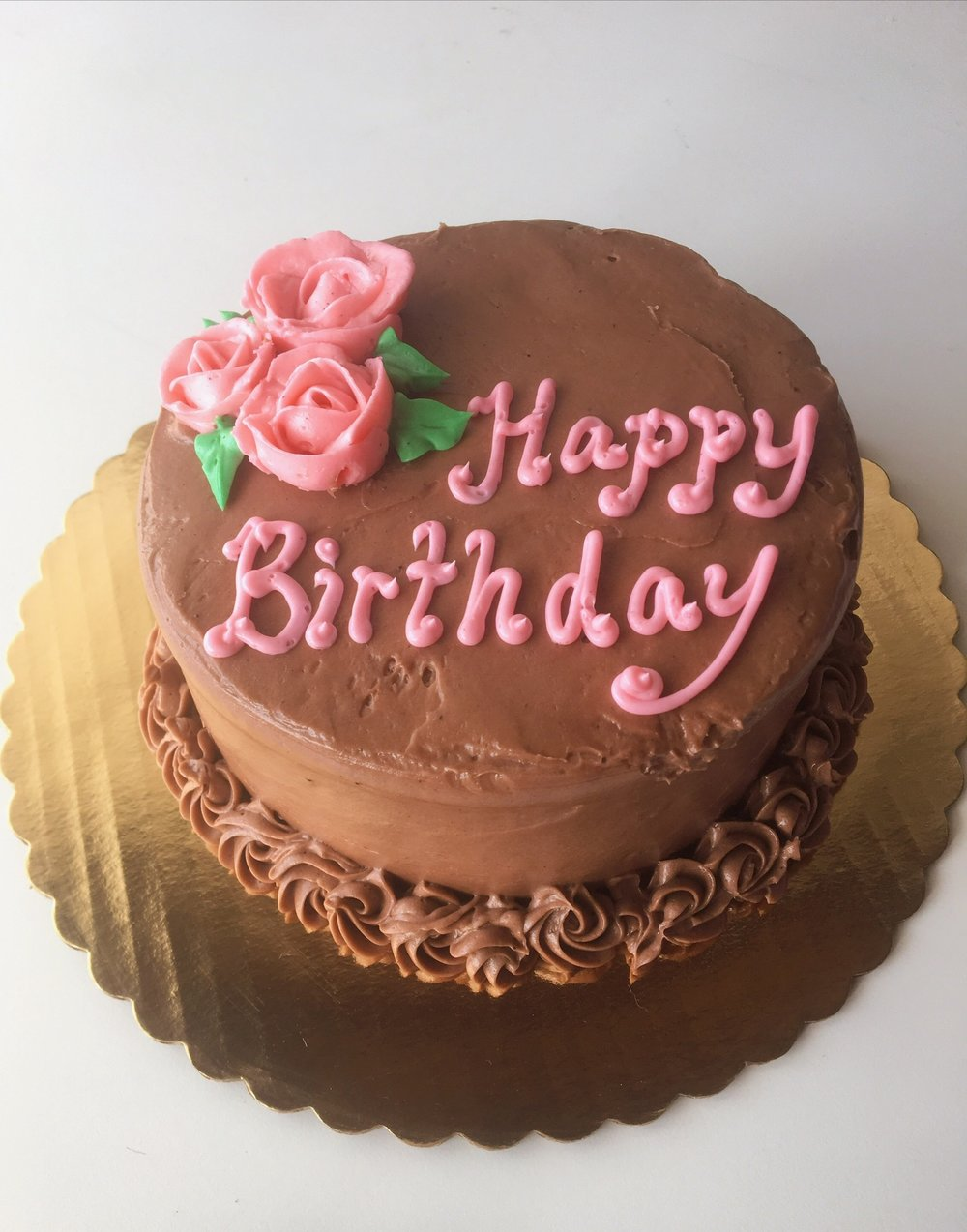 cake birthday chocolate