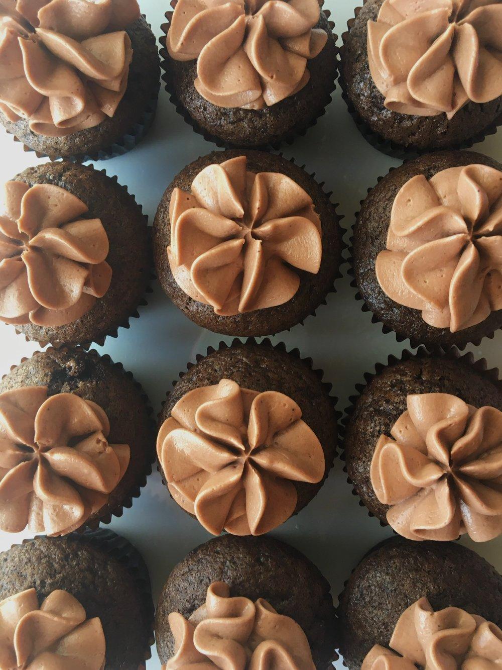 cupcakes mini chocolate