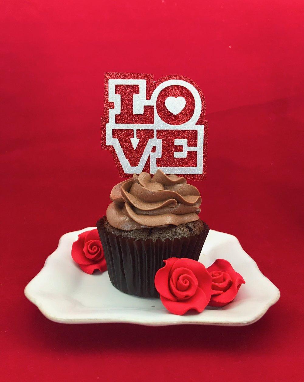 cupcake love valentine