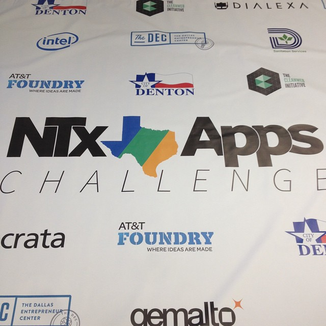 New #StepAndRepeat in for #DevDay! Thanks to all our sponsors! @intel @DallasCityHall @att @thedectx