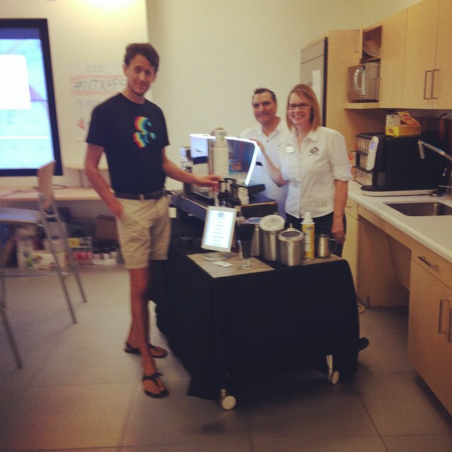 Grab a #latteonlocation at our #DevDay! It's not too late to stop by #brightideas @lattelady