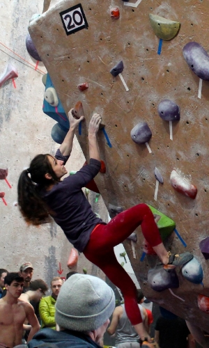 Alex Puccio at Dark Horse Series 1/31/15. Photo by Emily Lalone.