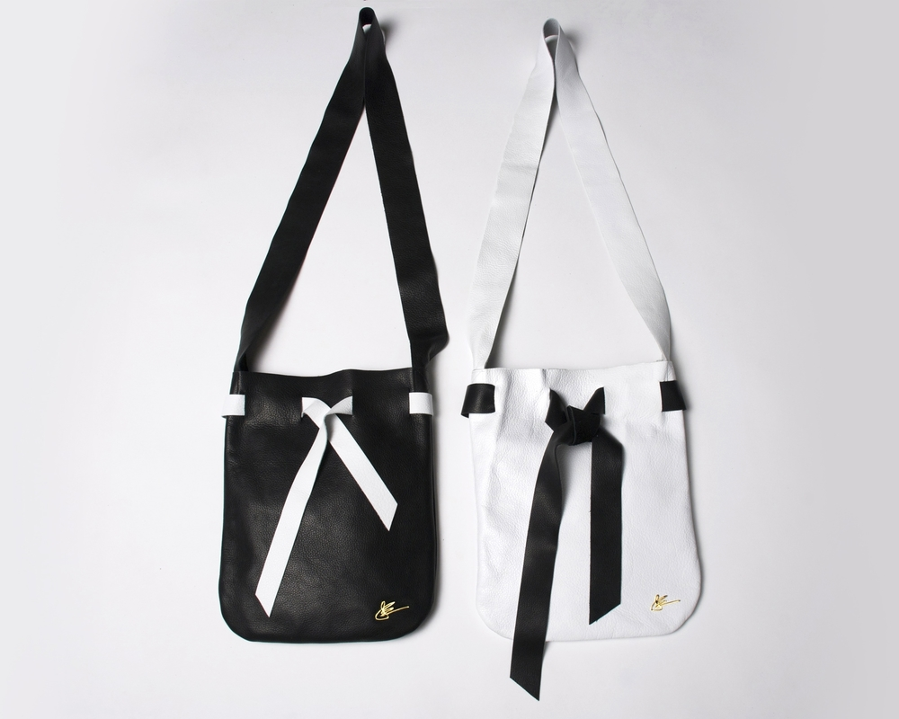 Shop The Black & White Pouch Collection  from: $185 - $1900
