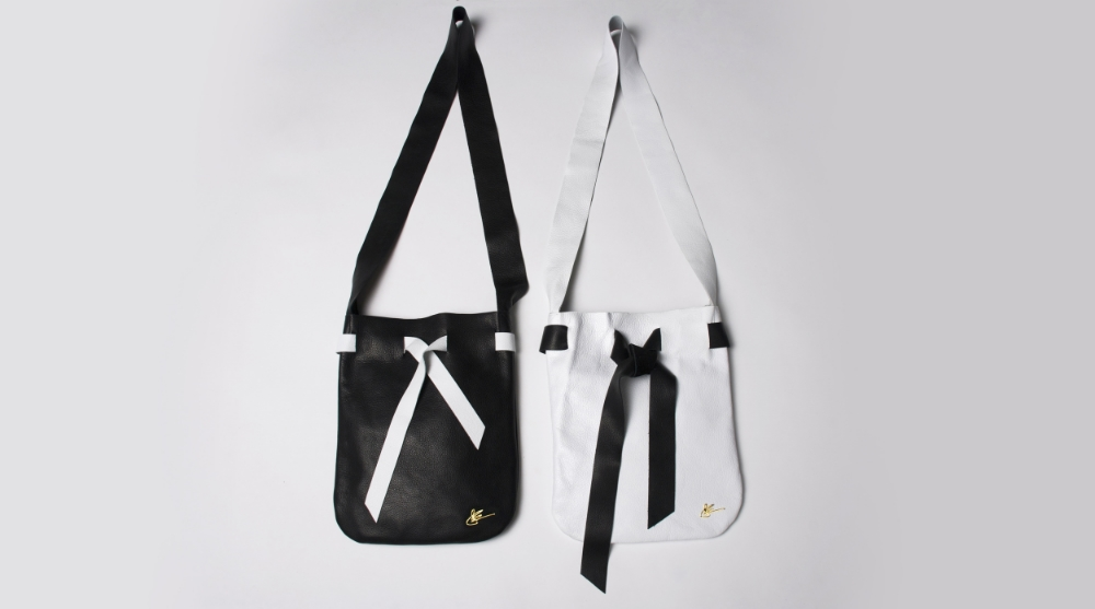 The Pouch Large - Black & White Collection - J Elster