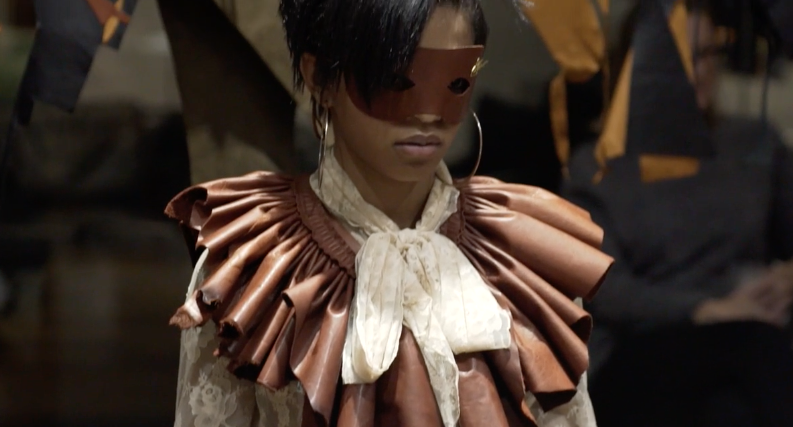 J.Elster the Raw Collection The Ruffle in Wine on Selah Marley
