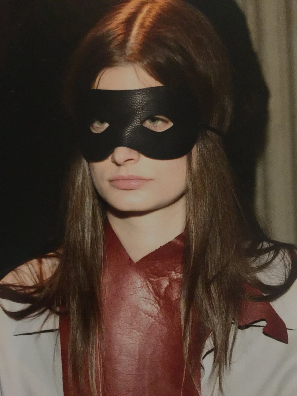 J.Elster The Raw Collection The Mask in Black on Jessica
