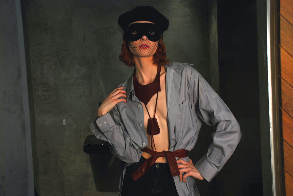 J.Elster The Raw Collection The Intelligent Belt in Wine on Annalisa