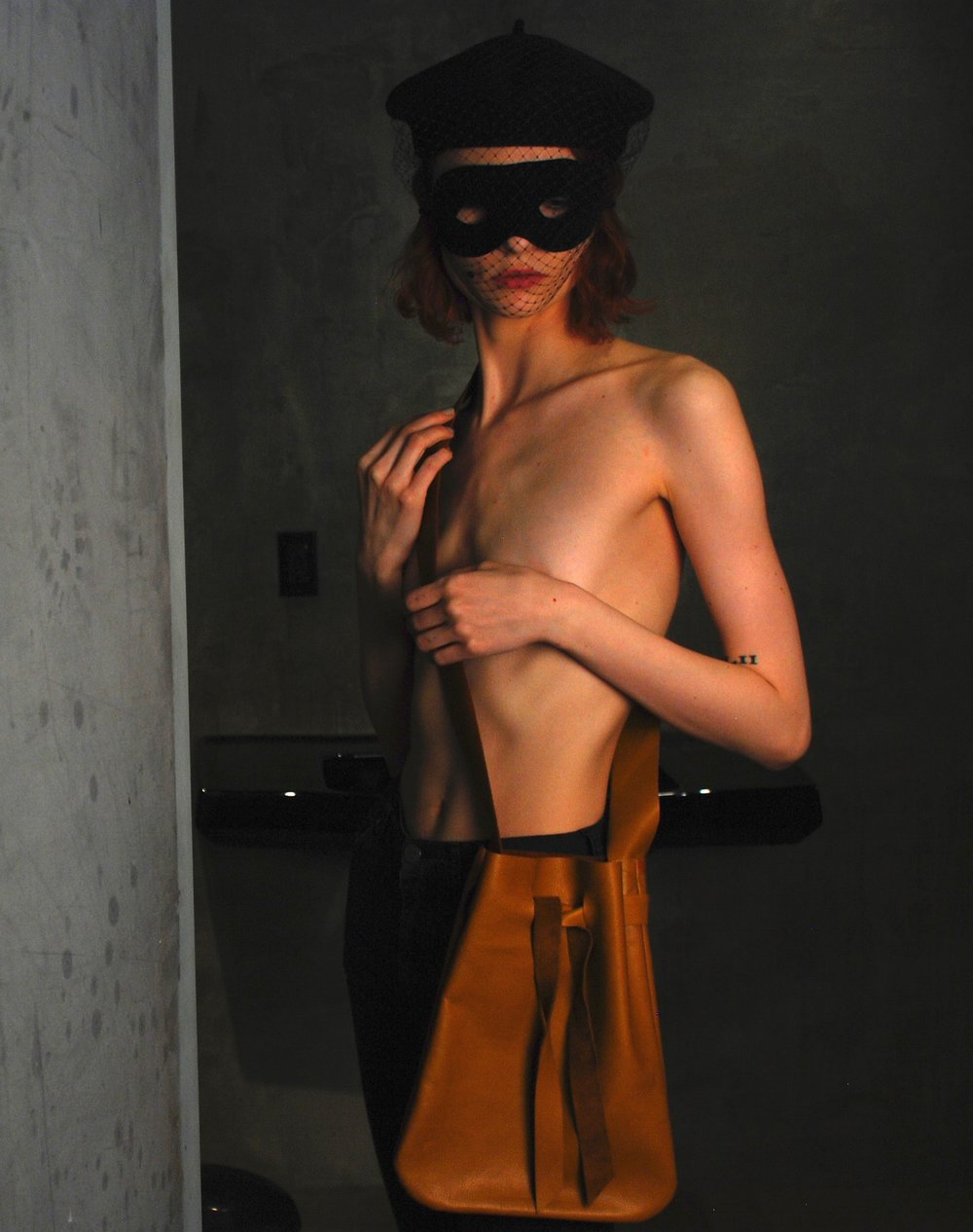 Copy of J.Elster the raw collection the pouch large in natural on annalisa