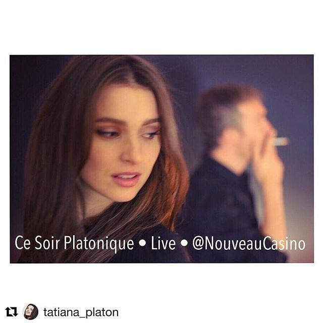 #CeSoir @platonique_official en #live @nouveaucasino