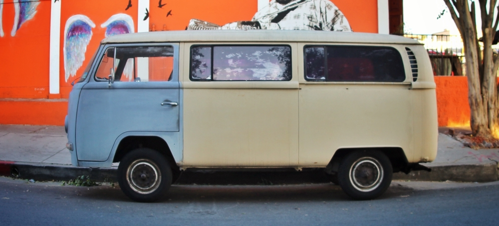 Beautiful, right? '69 VW